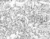WillWorld: The Process Roughed Out Page (Pencil)